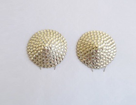Swarovski Encrusted Pasties (Crystal)