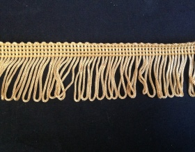 Fringe Loop 45mm Trim (Gold)