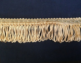 Fringe Loop 40mm Trim (Old Gold)