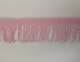 Fringe Loop 45mm Trim (Pink)