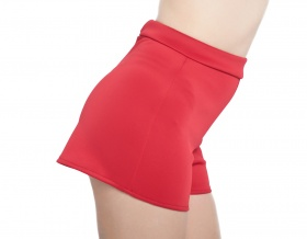 Go-Go Gidget Stretch Tap Shorts (Red)