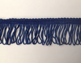 Fringe Loop 45mm Trim (Royal Blue)