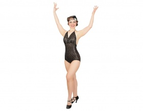 Viva Lust Vegas Sequined Leotard