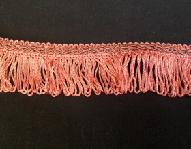 Fringe Loop 40mm Trim (Vintage Rose)