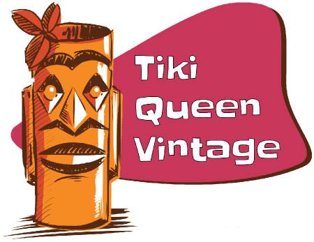 tiki-queen-vintage-logo